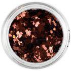 Confetti decorativ, 1mm - hexagoane arămii