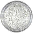 Confetti mic - pătrate albe