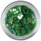 Pătrat cu gaură, verde închis