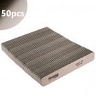50 buc - Pilă unghii Jumbo Speedy, zebră cu centru negru 150/150