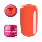 Gel UV Base One Neon - Dark Orange 11, 5g