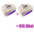 2 x Lampă LED albă - 66W