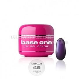 Gel UV Base One Metallic – Dashing Diva 49, 5g