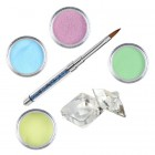Set Pastel - set de pudre acrilice colorate