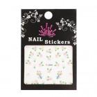 Stickere pentru unghii cu motive de flori
