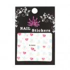 Stickere pentru unghii cu diverse motive colorate