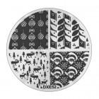 Șablon ștampilare DXE52 - Christmas