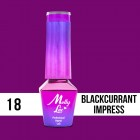MOLLY LAC UV/LED gel polish Cocktails and Drinks - Blackcurrant Impress 18, 5ml