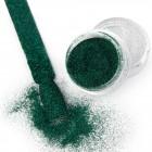 Pulbere decorativă strălucitoare - Efect Velvet nr. 11 - verde închis, 3g