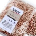 Ceară parafină cosmetică - perle - Ciocolata, 500g