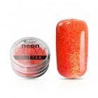 Pudră decorativă pentru unghii, Neon Glow Glitter, 02 – Dark Pink, 3g