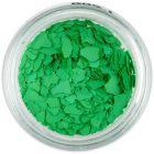 Fulgi de confetti cu o formă nedefinită - verde
