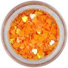 Paiete inimă - portocalii