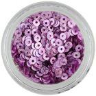 Paiete nail art violet roz - formă de disc