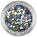 Stele decorative argintii - hologramă