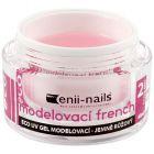 Gel UV French pentru construcție - rozaliu, 40ml