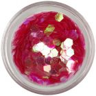Hexagon roşu - elemente aqua