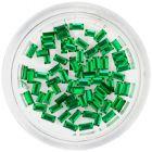 Strasuri verde-smarald, dreptunghiuri