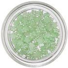 Flori mici decorative cu efect perlat - verde deschis
