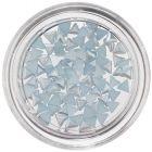 Triunghiuri perlate pentru nail art - bleu